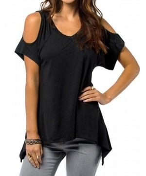 YesFashion Womens Vogue Shoulder Design