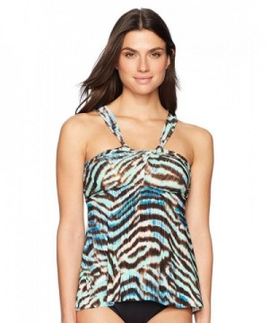 Coastal Blue Control Swimwear Crisscross