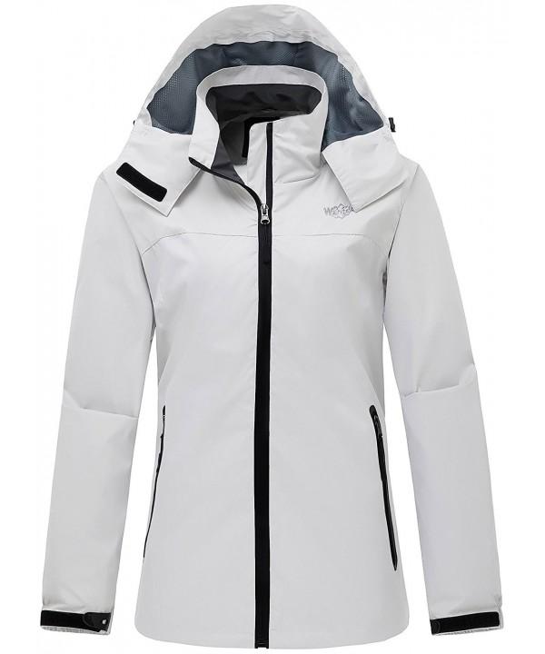 Wantdo Womens Outdoor Windbreaker Outwear
