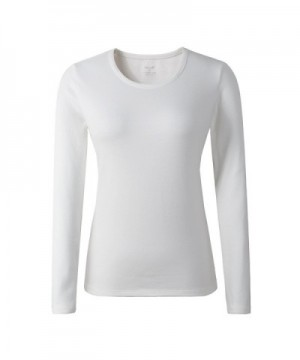 HieasyFit Womens Cotton T Shirt Layer