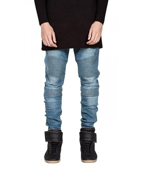 HerQueen Jeans Elastic Stretch Fashion