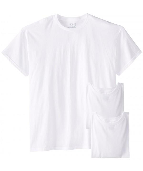 Fruit Loom Crew Neck Undershirts T Shirts