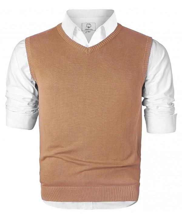 Mocotono V Neck Cotton Sleeveless Sweater