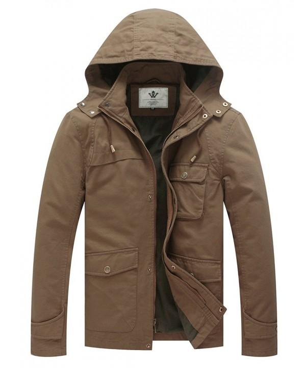 WenVen American Military Jacket Khaki
