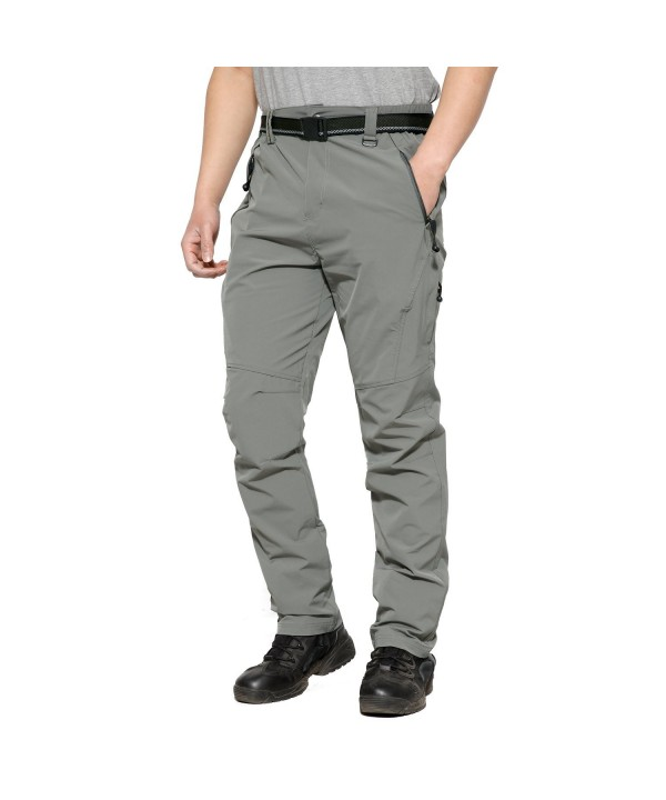 Hiking Pants Resistant Ribstop Lightweight