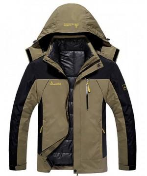HENGJIA Outdoor Waterproof Hooded Detachable