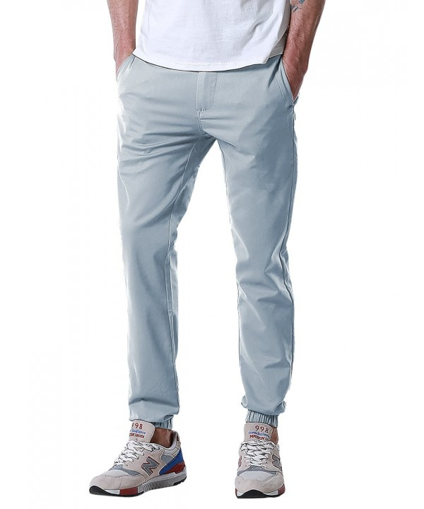 Match Tapered Banded Jogger Silver