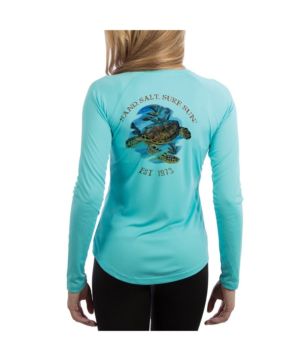 Turtle Womens Sleeve T Shirt X Large