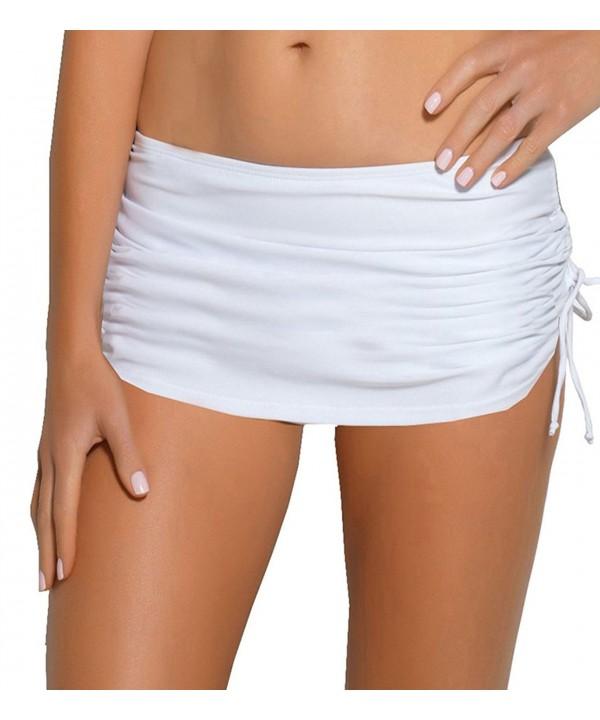 ebuddy Bikini Drawstraing Bottoms White M