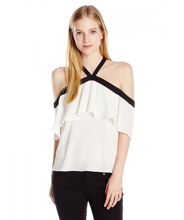XOXO Womens Rebecca Contrast Shoulder