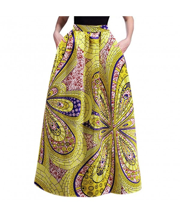 RARITY US African Glamorous Pleated Pockets
