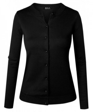 B I L Y Womens Cardigan Sweater X Large