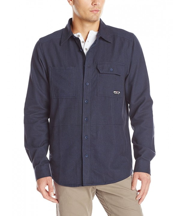 KAVU Berwin Shirt Midnight Large