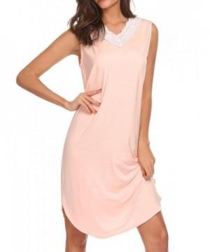 Ekouaer Womens Nightgown Sleepwear Loungewear
