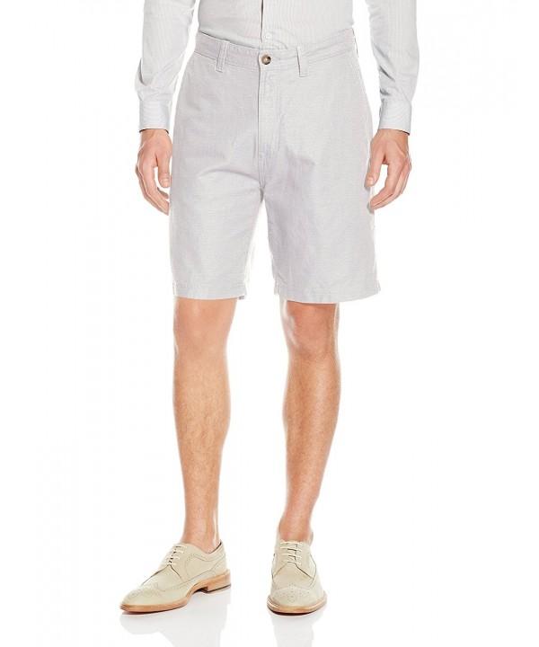 Nautica Linen Cotton Shorts Wheat