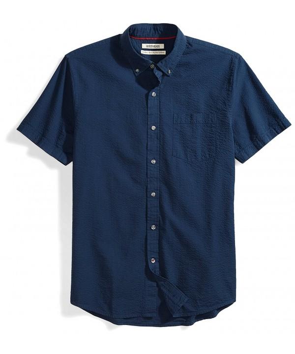 Goodthreads Standard Fit Short Sleeve Seersucker XX Large