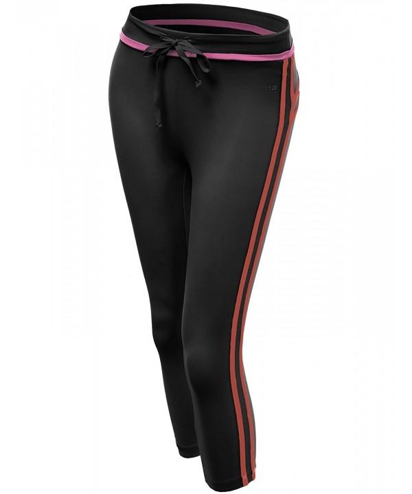 Xpril Stripe Length Skinny Workout
