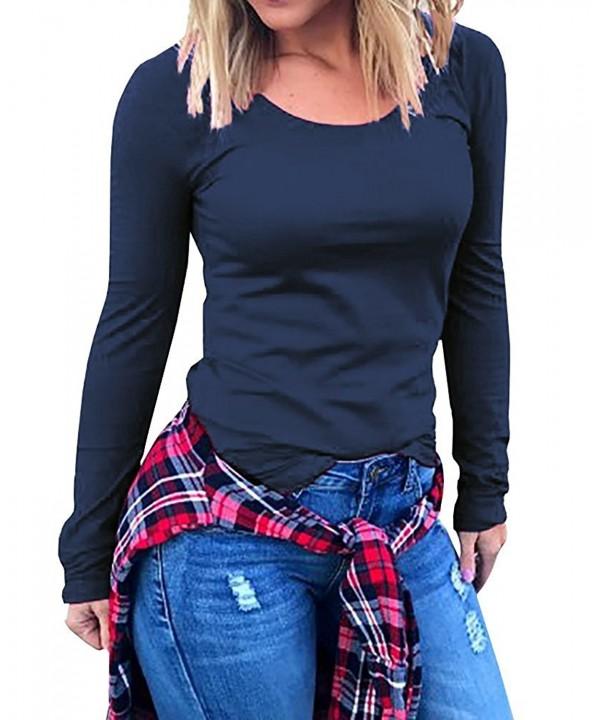 Womens Casual Sleeve Cotton Tunics
