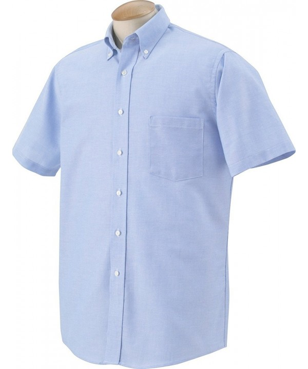Heusen Short Sleeve Oxford Dress Shirt