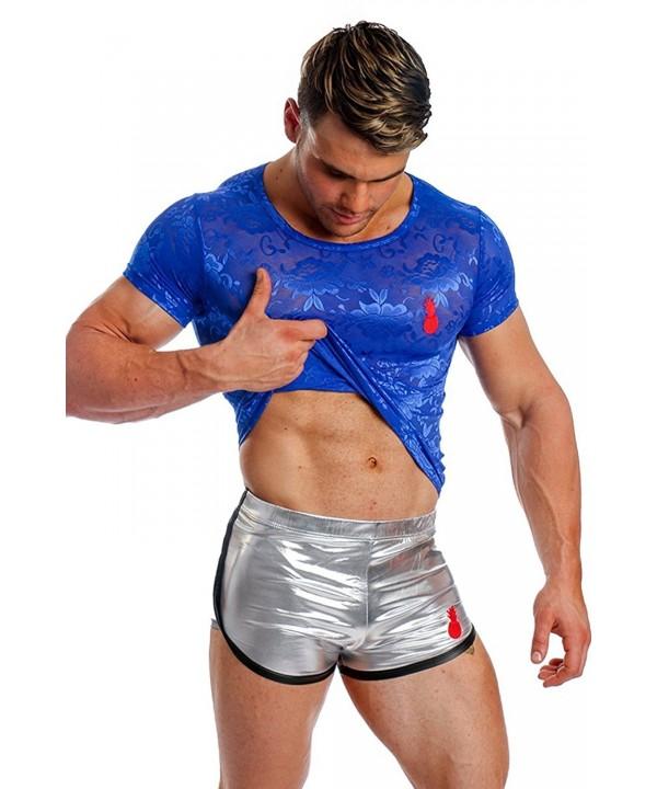 JJ Malibu Embroidery Through T Shirt