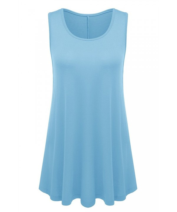 AM CLOTHES Womens Sleeveless Flared