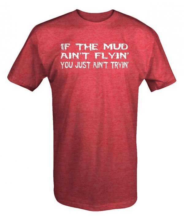 Flyin Tryin Muddin shirt Medium