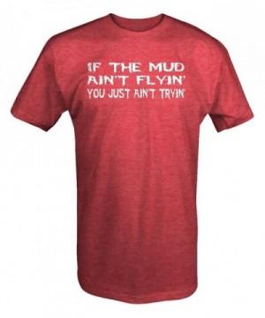 Flyin Tryin Muddin shirt Medium