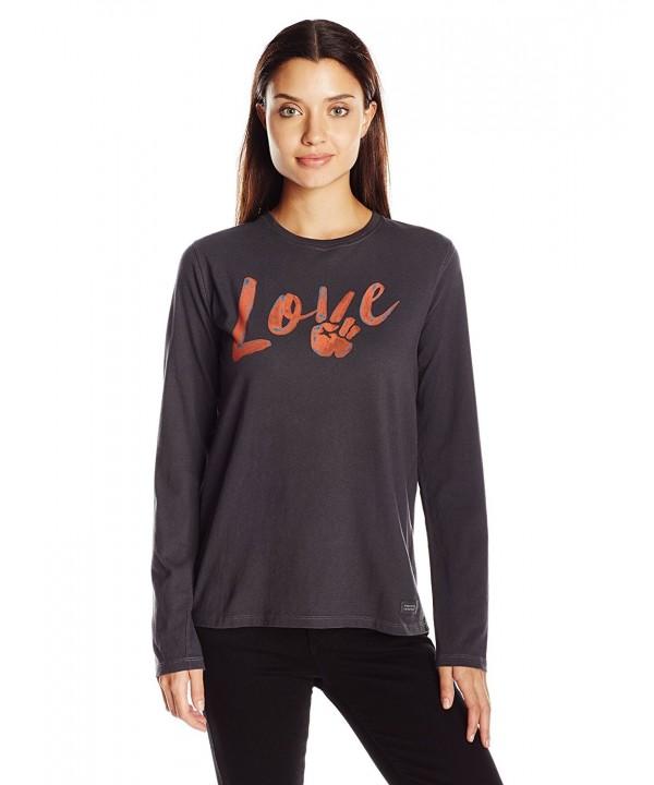 Life Crusher longsleeve Peace T Shirt