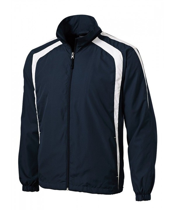 Joes USA Lightweight Full Zip Jacket Navy