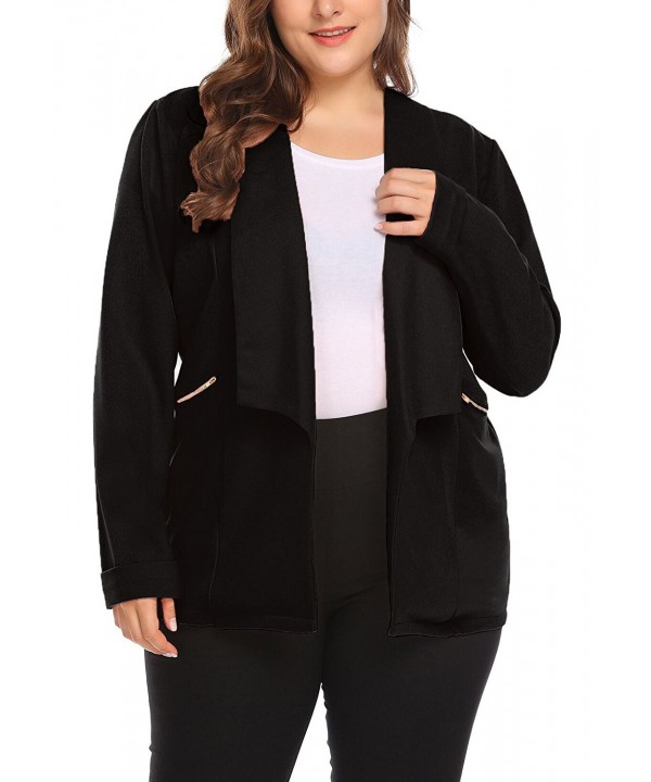 Vpicuo Womens Zipper Pocket Casual