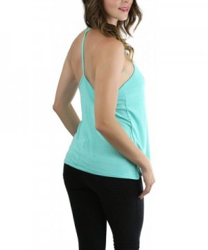 ToBeInStyle Womens Haltered T Back Tank