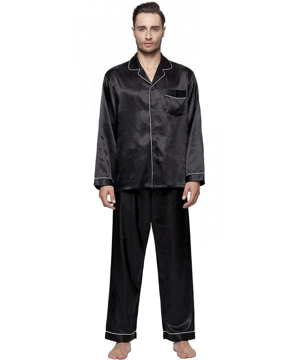 SunRise Mens Classic Satin Pajama