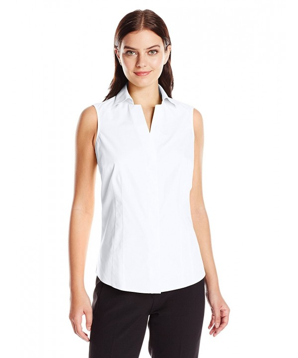 Foxcroft Womens Taylor Sleeveless Shirt
