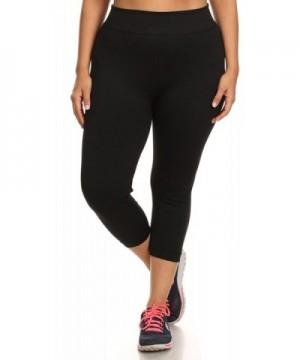 ShoSho Womens Basic Leggings Black