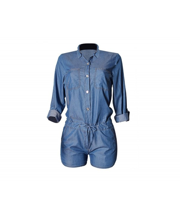 Montmo Sleeve Jumpsuit Bodysuit Playsuit