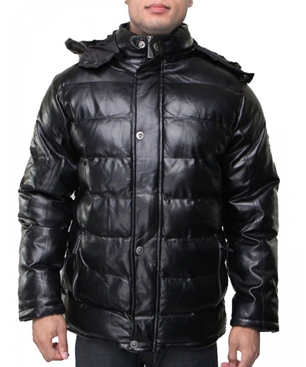 Dinamit Mens Puffy Removable Jacket