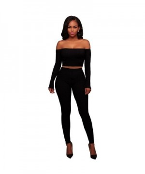 Womens Pieces Outfits Bandage Jogging