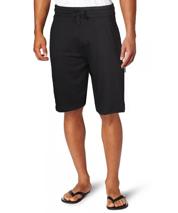 Pro Premium Terry Fleece Shorts Black XL