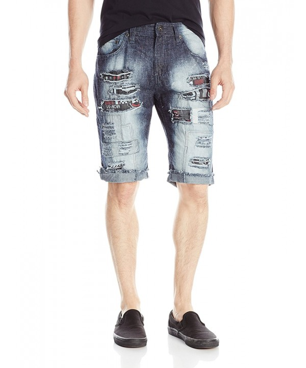 Southpole Shorts Printed Backing Patches