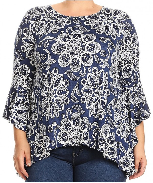 BNY Corner Abstract Floral Sleeve