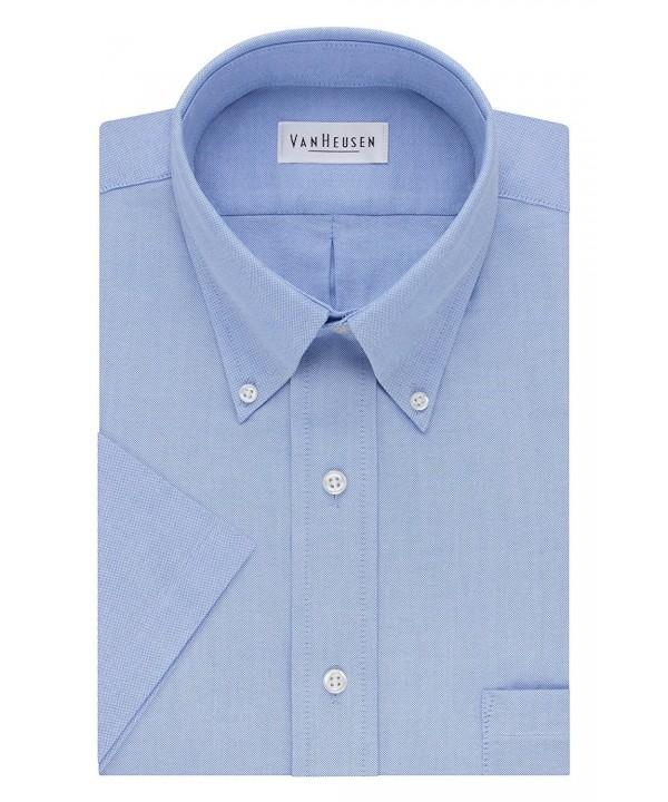 Van Heusen Short Sleeve Oxford Dress