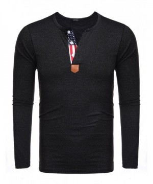 Cheap Men's Henley Shirts