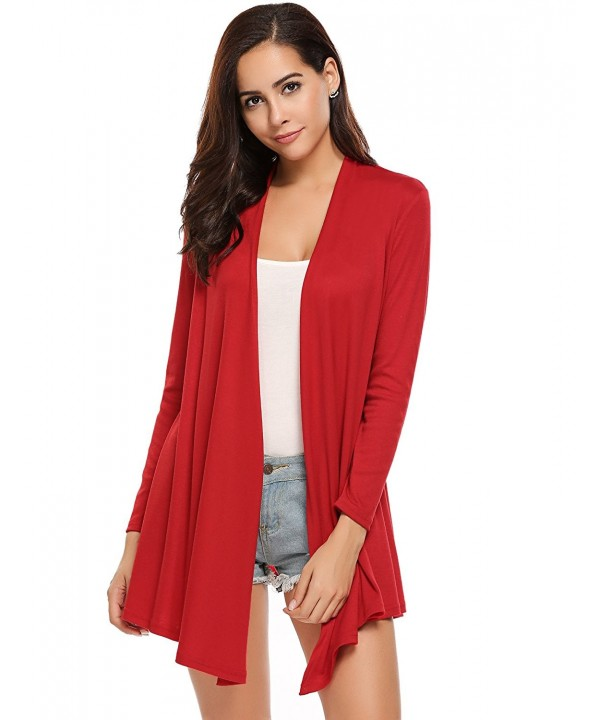 Beyove Womens Cardigan Sleeve Sweater