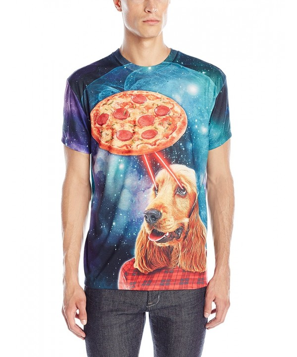 Faux Real Pizza Turquoise Purple