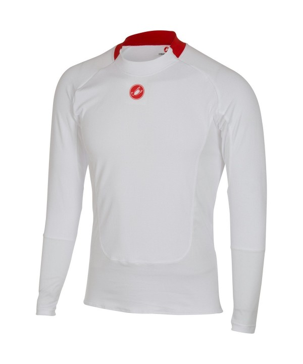 Castelli Prosecco Long Sleeve Baselayer White
