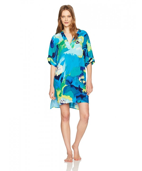 Natori Womens Blooming Mural Sleepshirt