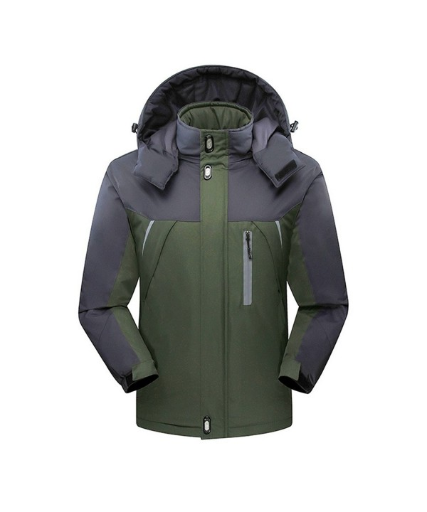 Flyrioc Winter Windproof Outdoor Green