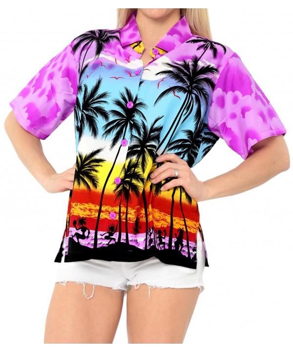 Hawaiian Relaxed Holiday Blouses Sleeves