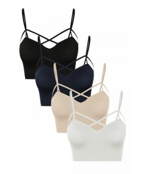 WeSeeFashion Seamless Crisscross Strappy Bustier