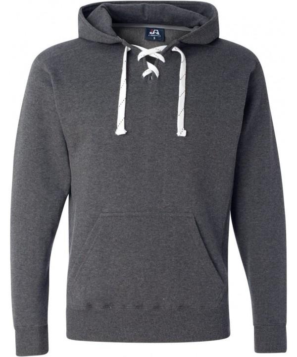 Charcoal Hockey Hood Sweatshirt Polyester